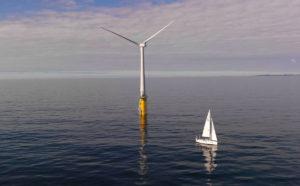 Первая в мире плавающая ветряная электростанция запустилась в Шотландии