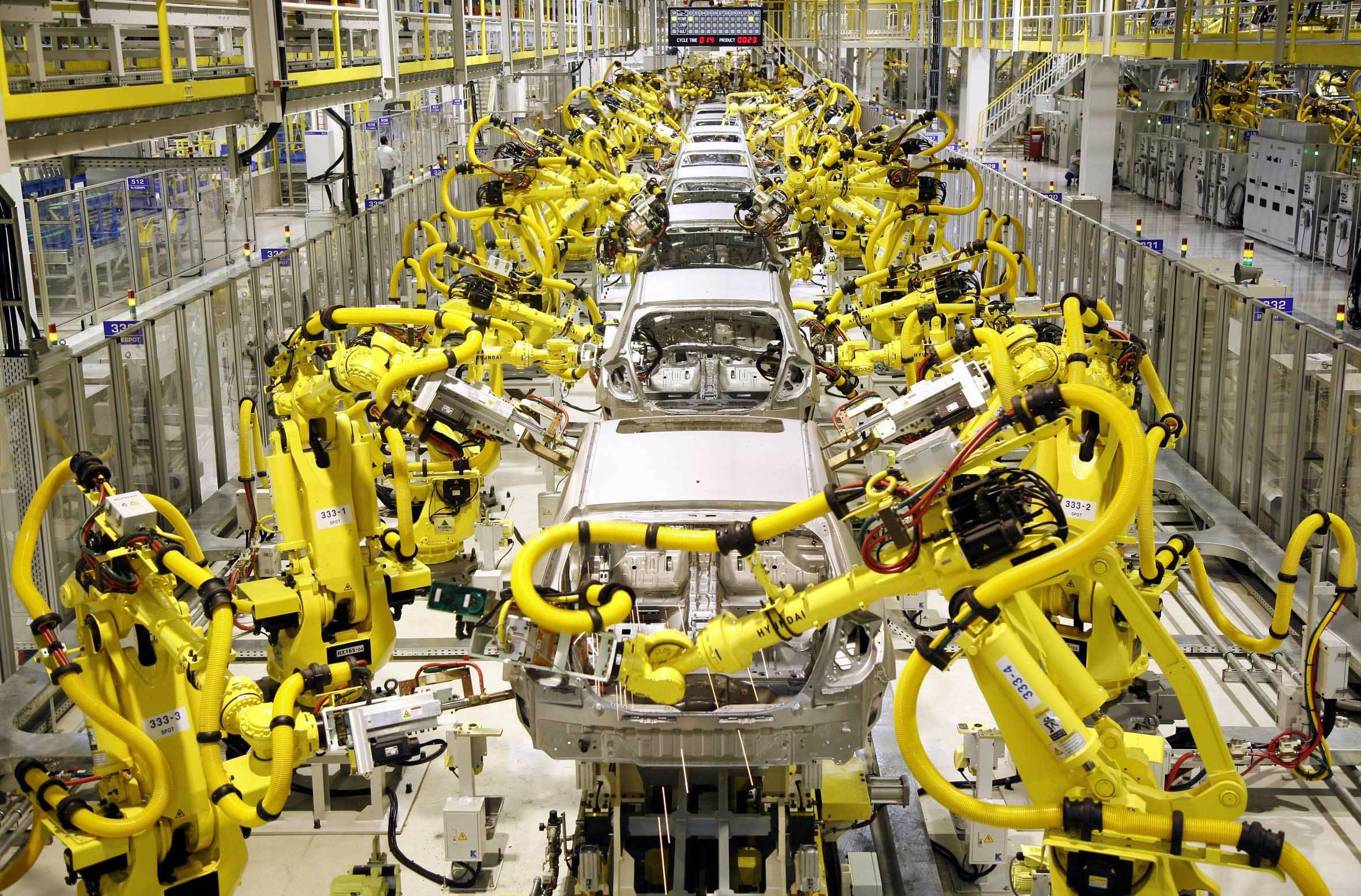Заводы будущего будут саморегулироваться.