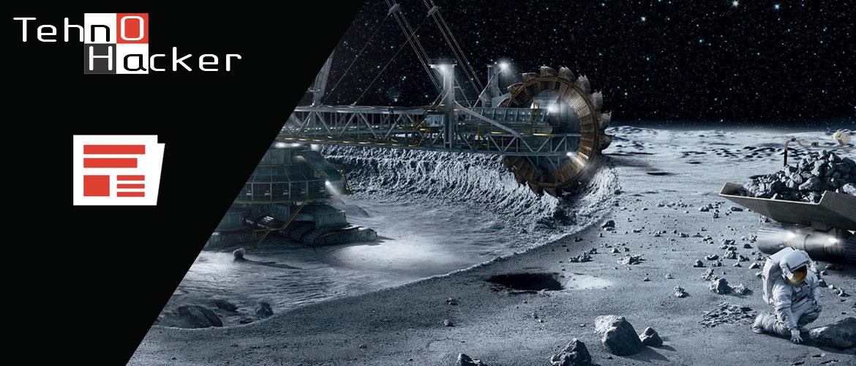 добычу ископаемых в космосе